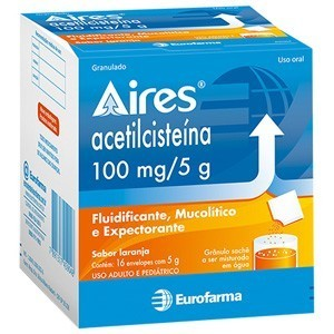 Farma - AIRES 100MG COM 16 ENVELOPES