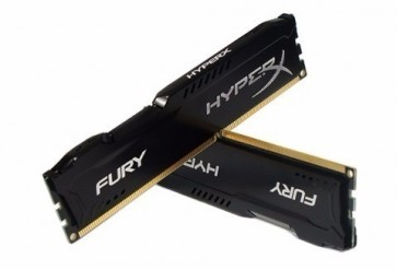 Info - Memória Kingston HyperX FURY 8GB 1866Mhz DDR3 CL10 Black Series - HX318C10FB/8