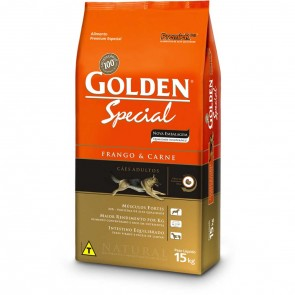 PET - Ração Golden Adulto Special - 15kg